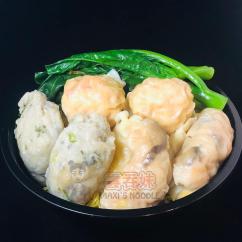 Wonton, Dumpling, & Dace Fish Ball Noodle Soup
